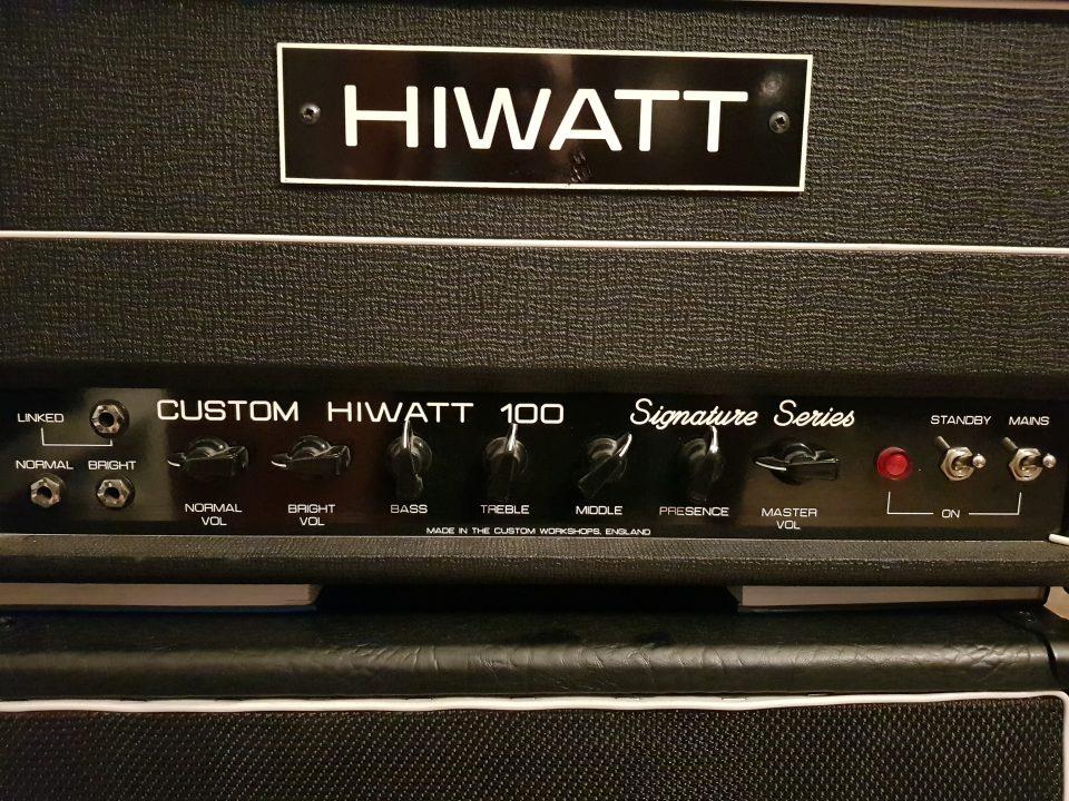 Amplificatore testata per chitarra Hiwatt DG 103 David Gilmour Signature